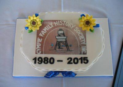 GFHS 35th Anniversary cake