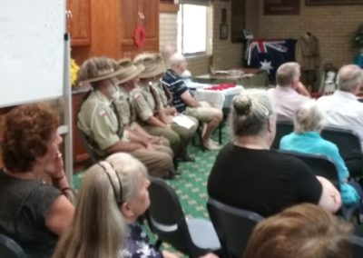 The 5th Light Horse at ANZAC book launch