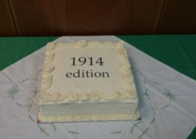 ANZAC 1914 edition rainbow cake